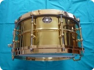 Ludwig Ludwig Millennium Snare Drum Brass On Brass 14 X 65 2009 Brass