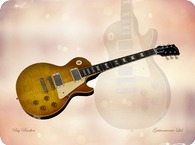 Gibson Les Paul 1959 Canvas Print 1959 Sunburst