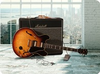 Gibson ES345 Canvas Print 1959 Sunburst