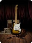 Fender Stratocaster Canvas Print 1957 Sunburst