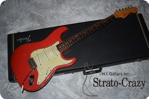 Fender Stratocaster 1963 Firsta Red