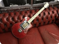 Hagstrom P 24 Red Sparkle