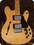 Fender Starcaster 1976 Natural Flammed