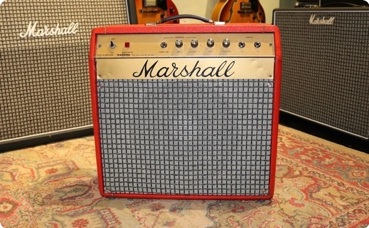 Marshall Mercury 2060 1972 Red Tolex