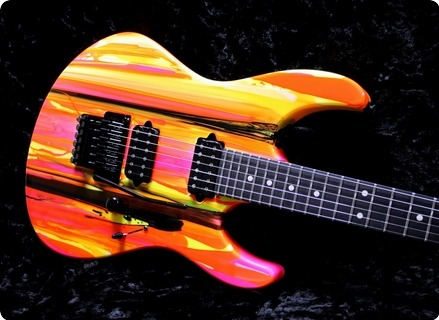 Suhr 80's Shred Mkii Limited Edition #jst6e0j Neon Drip