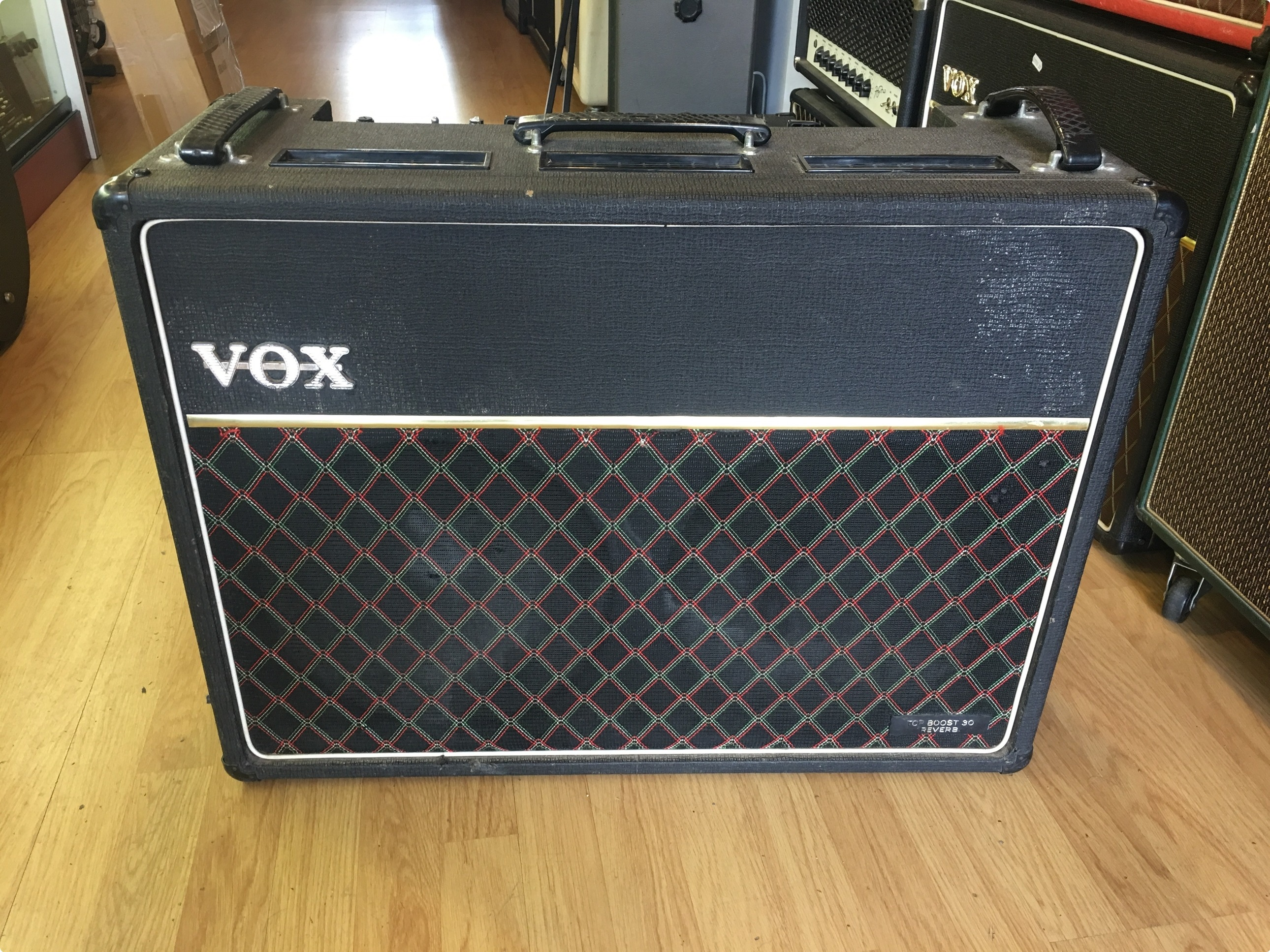 ac30. vox ac30 top boost reverb 1979