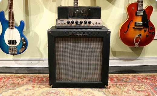 Ampeg B15nf 1967 Blue Checked Tolex