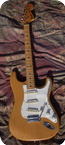 Fender Stratocaster Staggered pole 1974 Natural