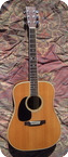 Martin D35 Lefty Left 1971 Natural