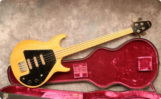 Gibson Grabber G3 1976 Natural
