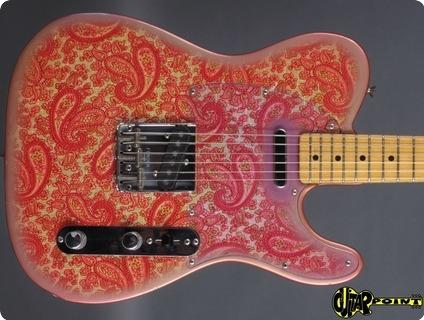 Fender Telecaster 1968 Pink Paisley