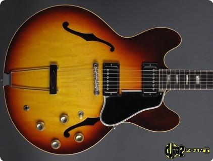 Gibson Es 335 Td (wide Neck!) 1965 Sunburst