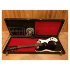 Silvertone 1448 With Amp Case 1967 Black Sparkle