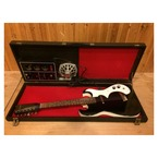 Silvertone 1448 With Amp Case 1967 Black Sparkle