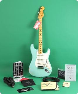 Fender Custom Shop 1955 Stratocaster Relic Reissue 2015 Surf Green