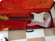 Fender Stratocaster 1963 Burgundy Mist Refin
