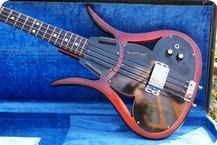Ampeg ASB 1 Devil Bass 1966 RedBlack