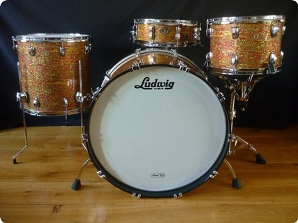 Ludwig Legacy 2009 Citrus Glass Glitter