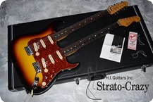 Fender Japan Double Neck Stratocaster 2012 Sunburst