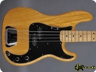 Fender Precision P Bass 1977 Natural