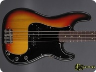 Fender Precision P Bass 1973 3 tone Sunburst