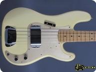 Fender 57 Precision Fullerton Ri 1982 Olympic White
