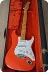 Fender JV 57 65 Stratocaster 1984 Fiesta Red