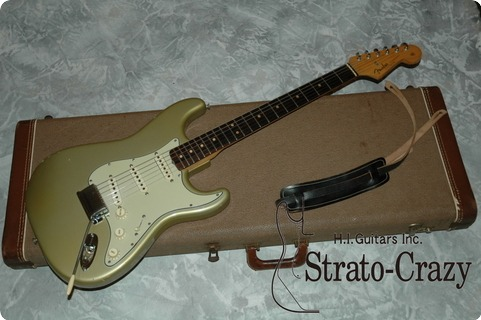 Fender Stratocaster 1964 Inca Silver Metallic