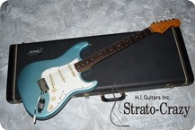 Fender Stratocaster 1965 Teal Green Metallic