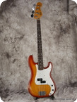 Fender Precision Bass 1981 Cherry Sunburst
