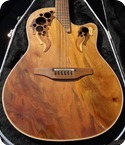 Ovation Elite 5858 Luxury Model With OP24 Pick Up Excellent Condition Case 1993 Walnut