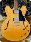 Gibson 335 Dot Neck Reissue 1995 Blonde