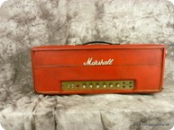 Marshall Model 1992 Super Bass Plexi 1969 Red