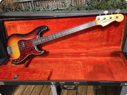 Fender Precision Bass 1965 Sunburst