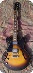 Gibson ES335 Lefty ES 335 1980 Tobacco Sunburst