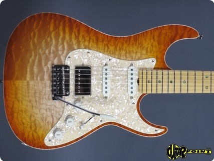 Don Grosh Bent Top Custom 2017 Natural Burst