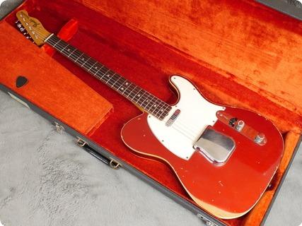 Fender Custom Telecaster 1967 Candy Apple Red