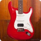 Fender Stratocaster 2011 Translucent Red