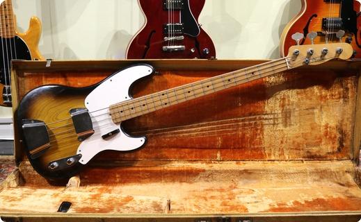 Fender Precision 1956 2 Tone Sunburst