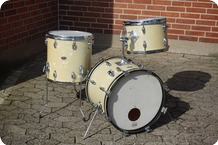 Slingerland USA Bebob Jazz Kit 1966 White Marine Pearl
