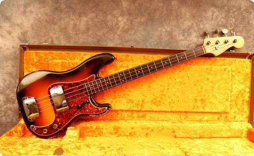Fender Precision 1961 Sunburst