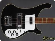 Rickenbacker 4001 1975 Jetglo Black