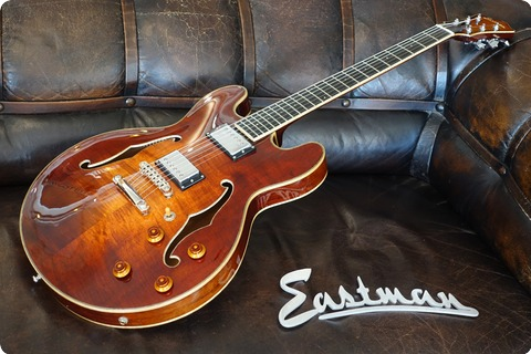 Eastman Guitars T186mx Semi Hollow Guitar 2017 Classic