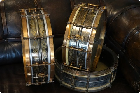 Ludwig Black Beauty 1920 Engraved