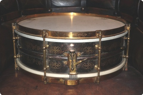 Ludwig / Conn Black Beauty 1930 Engraved
