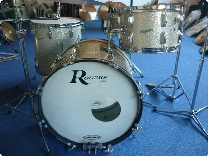 Rogers Holiday 1967 Silver Sparkle