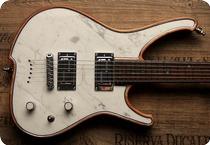 Zerberus Guitars Nemesis 2017 White Carrara Marble