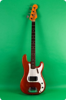 Fender ® Precision Bass 1972 Candy Apple Red