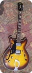 Guild Starfire IV SF4 Lefty 1976 Tobacco Sunburst