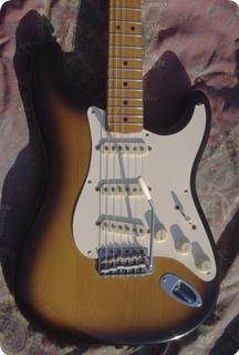 Fender Stratocaster John Cruz  57' Reissue 1988 Sunburst Two Tone